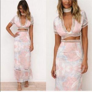 Sabo Skirt matching set